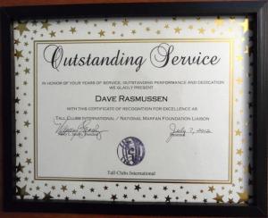 TCI 2012 Service Award