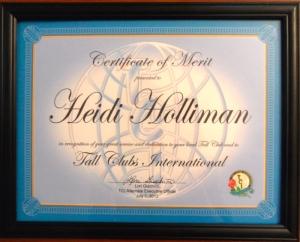 TCI 2012 Merit Award